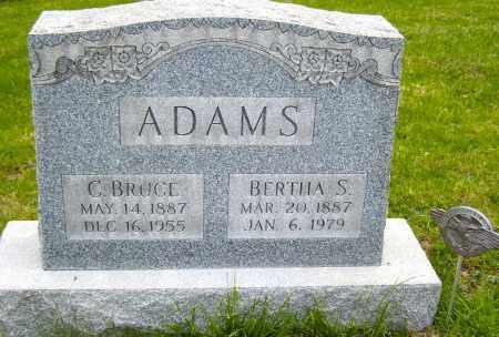 ADAMS, BERTHA S. - Northumberland County, Pennsylvania | BERTHA S. ADAMS - Pennsylvania Gravestone Photos