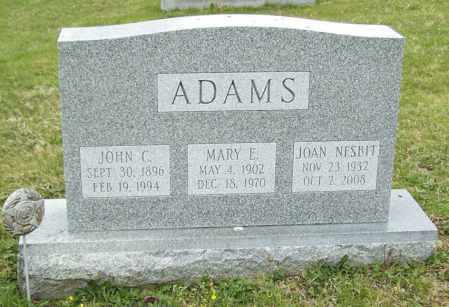 ADAMS, JOHN C. - Northumberland County, Pennsylvania | JOHN C. ADAMS - Pennsylvania Gravestone Photos