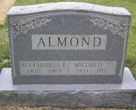 ALMOND, REV. CHARLES B - Northumberland County, Pennsylvania | REV. CHARLES B ALMOND - Pennsylvania Gravestone Photos