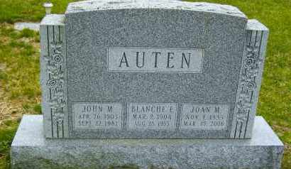 AUTEN, JOAN M. - Northumberland County, Pennsylvania | JOAN M. AUTEN - Pennsylvania Gravestone Photos