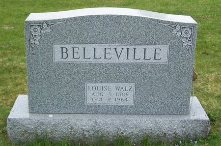 BELLEVILLE, LOUISE - Northumberland County, Pennsylvania | LOUISE BELLEVILLE - Pennsylvania Gravestone Photos