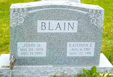 BLAIN, JOHN H - Northumberland County, Pennsylvania | JOHN H BLAIN - Pennsylvania Gravestone Photos