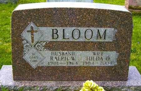 BLOOM, RALPH W - Northumberland County, Pennsylvania | RALPH W BLOOM - Pennsylvania Gravestone Photos