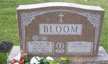 BLOOM, LYNN J - Northumberland County, Pennsylvania | LYNN J BLOOM - Pennsylvania Gravestone Photos