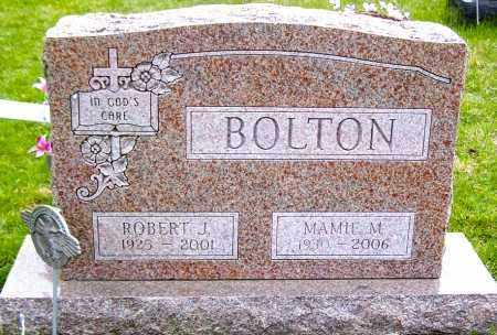 BOLTON, ROBERT J. - Northumberland County, Pennsylvania | ROBERT J. BOLTON - Pennsylvania Gravestone Photos