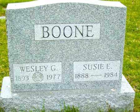 BOONE, WESLEY G - Northumberland County, Pennsylvania | WESLEY G BOONE - Pennsylvania Gravestone Photos
