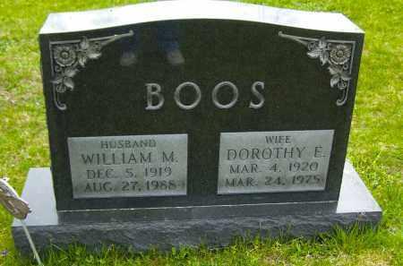 BOOS, DOROTHY E - Northumberland County, Pennsylvania   DOROTHY E BOOS - Pennsylvania Gravestone Photos