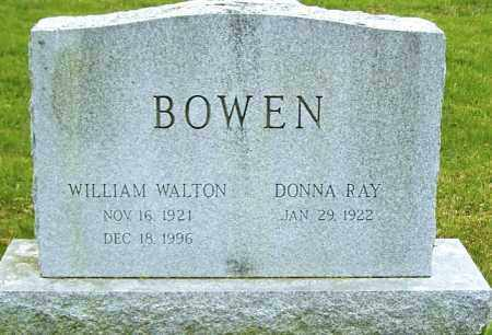 BOWEN, WILLIAM WALTON - Northumberland County, Pennsylvania | WILLIAM WALTON BOWEN - Pennsylvania Gravestone Photos