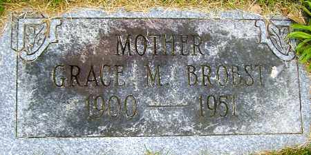 BROBST, GRACE M - Northumberland County, Pennsylvania | GRACE M BROBST - Pennsylvania Gravestone Photos