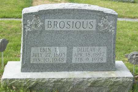 APKER BROSIOUS, DELILAH - Northumberland County, Pennsylvania | DELILAH APKER BROSIOUS - Pennsylvania Gravestone Photos