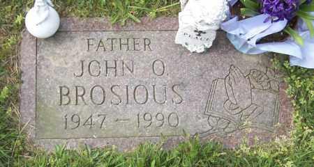 BROSIOUS, JOHN O - Northumberland County, Pennsylvania | JOHN O BROSIOUS - Pennsylvania Gravestone Photos