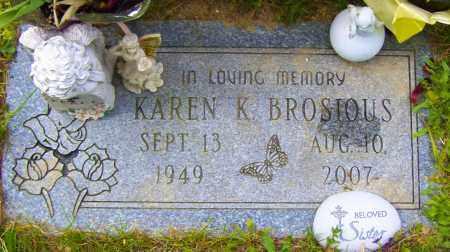 BROSIOUS, KAREN K - Northumberland County, Pennsylvania | KAREN K BROSIOUS - Pennsylvania Gravestone Photos