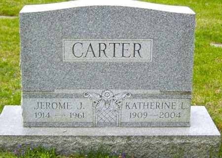 CARTER, KATHERINE L - Northumberland County, Pennsylvania | KATHERINE L CARTER - Pennsylvania Gravestone Photos