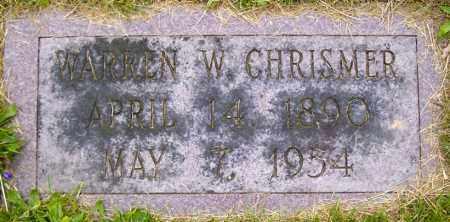 CHRISTMER, WARREN W - Northumberland County, Pennsylvania | WARREN W CHRISTMER - Pennsylvania Gravestone Photos