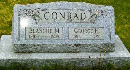 CONRAD, GEORGE H - Northumberland County, Pennsylvania | GEORGE H CONRAD - Pennsylvania Gravestone Photos