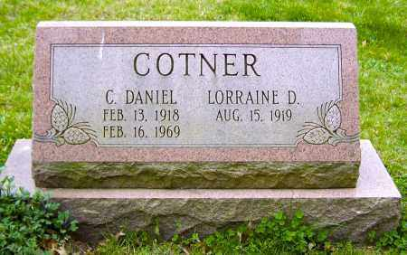 COTNER, C. DANIEL - Northumberland County, Pennsylvania | C. DANIEL COTNER - Pennsylvania Gravestone Photos