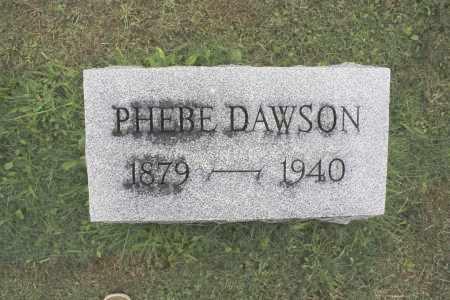 DAWSON, PHEBE - Northumberland County, Pennsylvania | PHEBE DAWSON - Pennsylvania Gravestone Photos