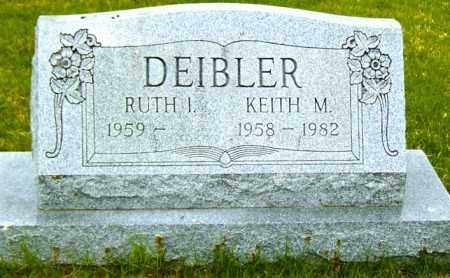 DEIBLER, KEITH M - Northumberland County, Pennsylvania | KEITH M DEIBLER - Pennsylvania Gravestone Photos