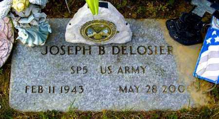DELOSIER, JOSEPH B - Northumberland County, Pennsylvania | JOSEPH B DELOSIER - Pennsylvania Gravestone Photos