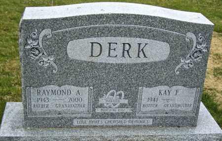 DERK, RAYMOND A. - Northumberland County, Pennsylvania | RAYMOND A. DERK - Pennsylvania Gravestone Photos