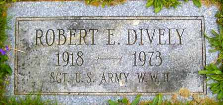 DIVELY, ROBERT E - Northumberland County, Pennsylvania | ROBERT E DIVELY - Pennsylvania Gravestone Photos