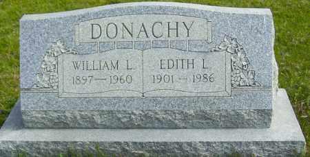 DONACHY, EDITH L - Northumberland County, Pennsylvania | EDITH L DONACHY - Pennsylvania Gravestone Photos