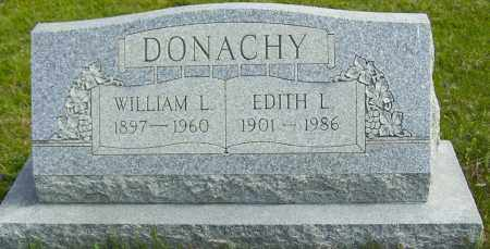 DONACHY, EDITH L - Northumberland County, Pennsylvania | EDITH L DONACHY - Pennsylvania Gravestone Photos