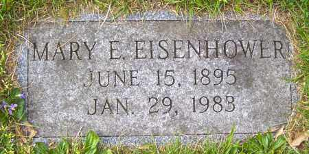 EISENHOWER, MARY E - Northumberland County, Pennsylvania | MARY E EISENHOWER - Pennsylvania Gravestone Photos