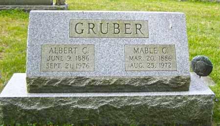 GRUBER, ALBERT C - Northumberland County, Pennsylvania | ALBERT C GRUBER - Pennsylvania Gravestone Photos