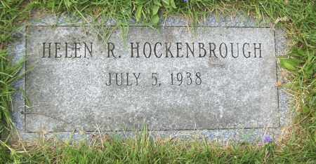 HOCKENBROUGH, HELEN R - Northumberland County, Pennsylvania | HELEN R HOCKENBROUGH - Pennsylvania Gravestone Photos