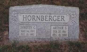 HORNBERGER, ARTHUR S - Northumberland County, Pennsylvania | ARTHUR S HORNBERGER - Pennsylvania Gravestone Photos