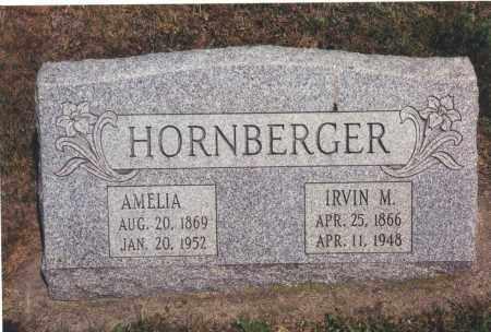 HORNBERGER, AMELIA JEMINA - Northumberland County, Pennsylvania | AMELIA JEMINA HORNBERGER - Pennsylvania Gravestone Photos