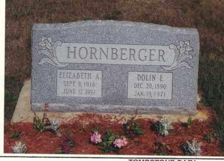 HORNBERGER, ELIZABETH A - Northumberland County, Pennsylvania | ELIZABETH A HORNBERGER - Pennsylvania Gravestone Photos