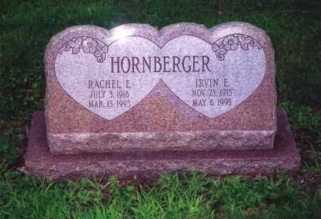 HORNBERGER, IRVIN E - Northumberland County, Pennsylvania | IRVIN E HORNBERGER - Pennsylvania Gravestone Photos
