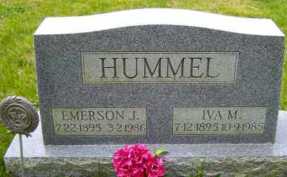 HUMMEL, EMERSON J - Northumberland County, Pennsylvania | EMERSON J HUMMEL - Pennsylvania Gravestone Photos