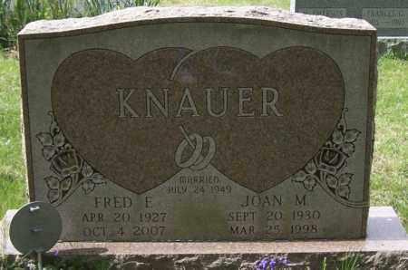 KNAUER, FRED E. - Northumberland County, Pennsylvania | FRED E. KNAUER - Pennsylvania Gravestone Photos