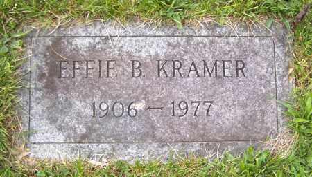 KRAMER, EFFIE B - Northumberland County, Pennsylvania | EFFIE B KRAMER - Pennsylvania Gravestone Photos