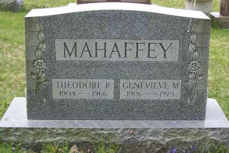 MAHAFFEY, THEODORE R. - Northumberland County, Pennsylvania | THEODORE R. MAHAFFEY - Pennsylvania Gravestone Photos