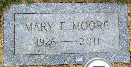 MOORE, MARY E - Northumberland County, Pennsylvania | MARY E MOORE - Pennsylvania Gravestone Photos