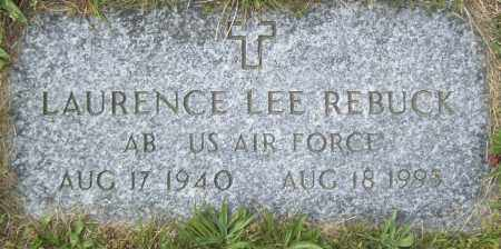 REBUCK, LAURENCE LEE - Northumberland County, Pennsylvania | LAURENCE LEE REBUCK - Pennsylvania Gravestone Photos