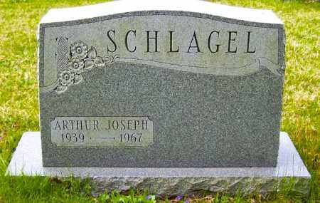 SCHLAGEL, ARTHUR JOSEPH - Northumberland County, Pennsylvania | ARTHUR JOSEPH SCHLAGEL - Pennsylvania Gravestone Photos