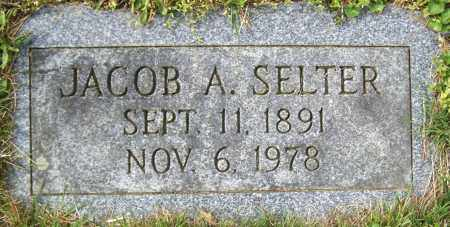SELTER, JACOB A. - Northumberland County, Pennsylvania | JACOB A. SELTER - Pennsylvania Gravestone Photos