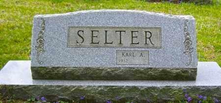 SELTER, KARL  A - Northumberland County, Pennsylvania | KARL  A SELTER - Pennsylvania Gravestone Photos