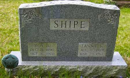SHIPE, FANNIE B - Northumberland County, Pennsylvania | FANNIE B SHIPE - Pennsylvania Gravestone Photos