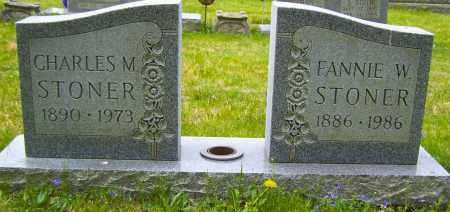 STONER, FANNIE W - Northumberland County, Pennsylvania   FANNIE W STONER - Pennsylvania Gravestone Photos