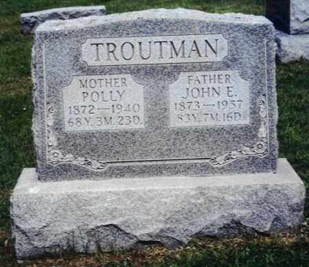 TROUTMAN, POLLY - Northumberland County, Pennsylvania | POLLY TROUTMAN - Pennsylvania Gravestone Photos