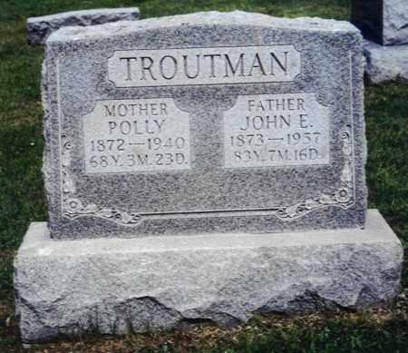 TROUTMAN, JOHN ELMER - Northumberland County, Pennsylvania | JOHN ELMER TROUTMAN - Pennsylvania Gravestone Photos