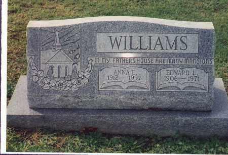 WILLIAMS, EDWARD L. - Northumberland County, Pennsylvania | EDWARD L. WILLIAMS - Pennsylvania Gravestone Photos