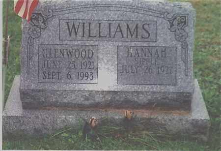 WILLIAMS, GLENWOOD E - Northumberland County, Pennsylvania | GLENWOOD E WILLIAMS - Pennsylvania Gravestone Photos
