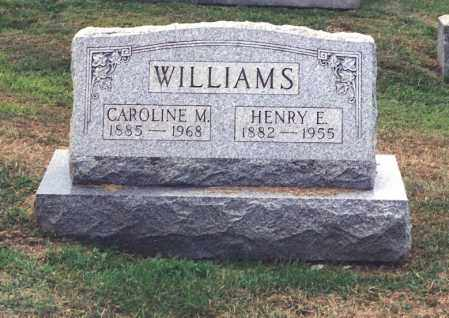WILLIAMS, HENRY E - Northumberland County, Pennsylvania | HENRY E WILLIAMS - Pennsylvania Gravestone Photos